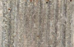 Rouille de zinc Zinguez la texture et le fond Le zinc rouill? de vieux dommages plat le mur image stock