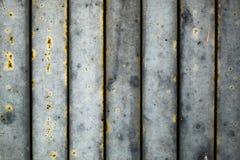 Rouille en acier de construction vieille Image libre de droits