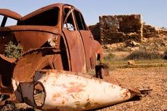 Rouille et ruines Image libre de droits