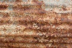 Rouille galvanisée Photo libre de droits