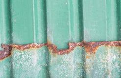 Rouille sur l'acier Image stock