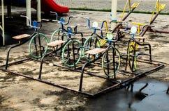 Rouillement d'acier de bicyclette images stock