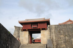 Roukokumon at Shuri Castle Royalty Free Stock Photography