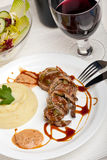 Roulade Stock Photography