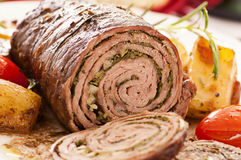Roulade Royalty Free Stock Photography