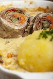 Roulade Royalty Free Stock Images