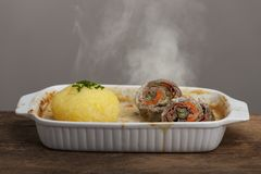 Roulade Royalty Free Stock Photos