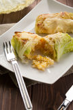 Roulade of cabbage and rice Royalty Free Stock Photography