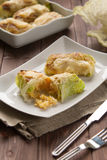 Roulade of cabbage and rice Royalty Free Stock Photo