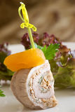 Roulade canape Stock Images
