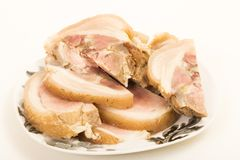 Roulade of pork Royalty Free Stock Photography