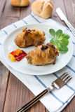 Roulade of poultry Stock Image