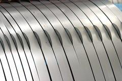 Rouleau d'acier Photographie stock