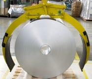 Rouleau d'aluminium photo stock