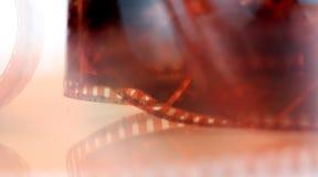 rouleau d'un film négatif de couleur du vintage 35mm Photographie stock