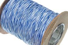 Rouleau de câble de réseau de télécommunication Images stock