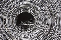 Rouleau de clôture de fil Photographie stock