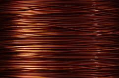 Rouleau de cuivre Photos stock