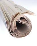 Rouleau de journal Images stock