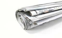 Rouleau de journal Image libre de droits