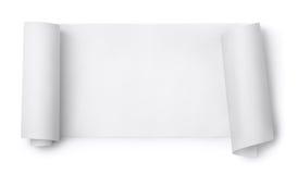 Rouleau de papier Image libre de droits
