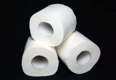Rouleau de papier hygiénique images stock