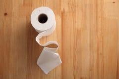 Rouleau de papier hygiénique Photographie stock