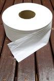 Rouleau de papier hygiénique de serviette de papier image libre de droits
