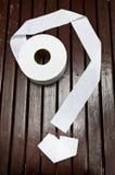Rouleau de papier hygiénique de serviette de papier images libres de droits