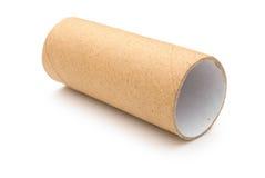 Rouleau de papier hygiénique vide Images libres de droits