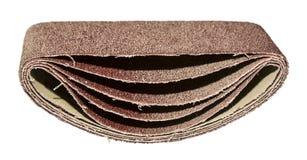 Rouleau de papier sablé Images stock