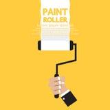 Rouleau de peinture Photo libre de droits