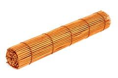 Rouleau de rideau en bambou Images libres de droits