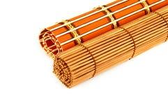 Rouleau de rideau en bambou Images stock