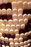Rouleau de rideau en bois Photographie stock libre de droits