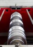 Rouleau de tuile formant la machine Image stock