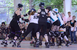Rouleau Derby - le paquet Photos stock