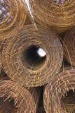 Rouleau des cheminées en métal Image libre de droits