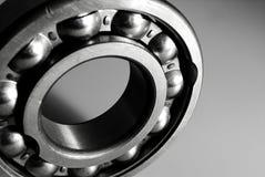 Roulement à billes en noir et blanc photo stock