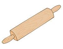 Roulement-broche en bois. Images libres de droits