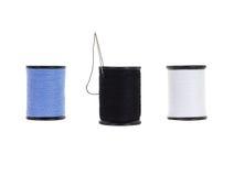 Roulement de fil de trois tubes photo stock