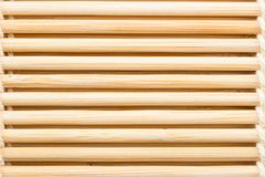 Roulement en bambou de sushi photographie stock