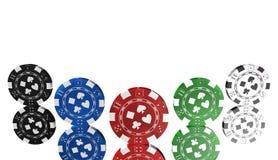 Roulett kasinolek, kungliga lekar, symbol, tecken, bästa illustration 3D Arkivfoton