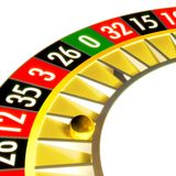 Roulette 03 closer royalty free stock photo