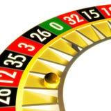 Roulette 03 näher Lizenzfreies Stockfoto