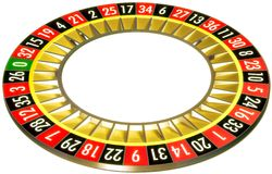 Roulette 05 without ball Royalty Free Stock Photography