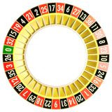 Roulette 06 zonder bal Stock Afbeelding