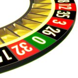Roulette 08 Without Ball Stock Photo