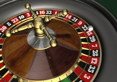 Roulette. Casino roulette - 3d max render stock illustration