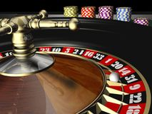 Roulette. Casino roulette - 3d max render royalty free illustration